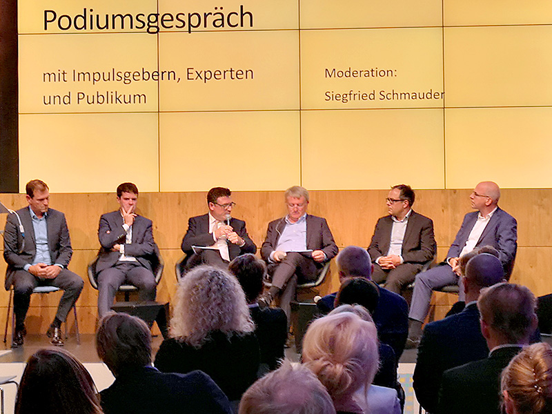 Podiumsgespräch am 10. September 2019 in Berlin